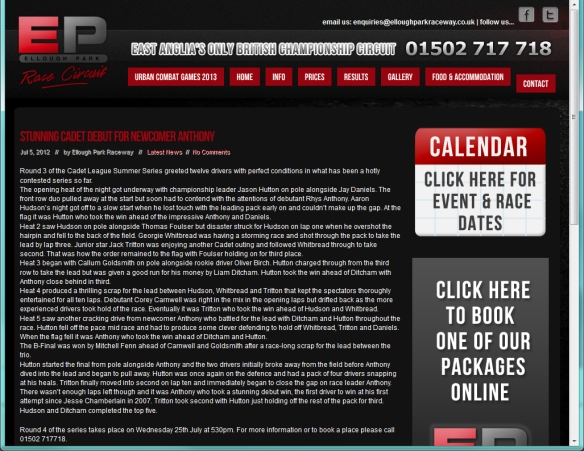 Press EP circuit 5 July 2012